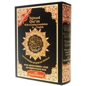 Quran Tajweed Arabic & Phonetic Scripture