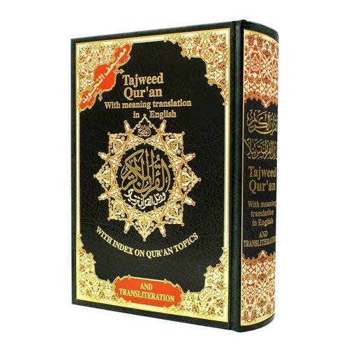 Tajweed Koran Hafz met Engelse vertaling