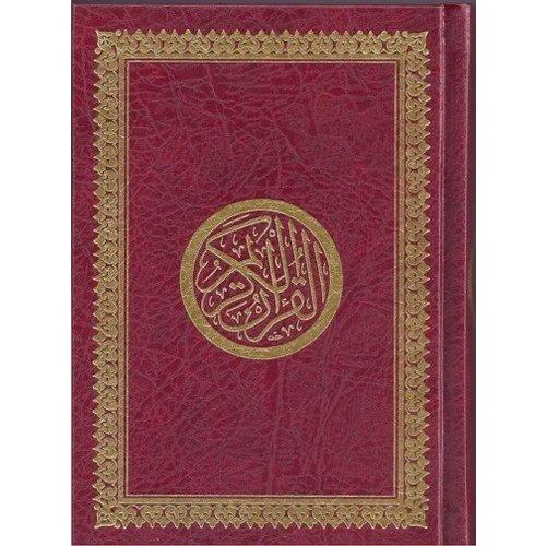 Arabische Koran Rood - A6 Formaat