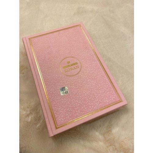 Islamitische-Boekhandel Koran Kerim Roze en Nederlands Vertaling