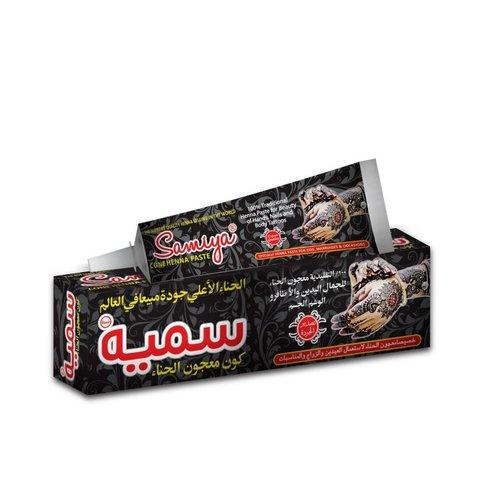 Samiya Henna Pasta Zwart