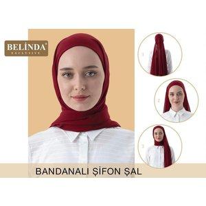 Exclusive Bandana Sifon Sjaal