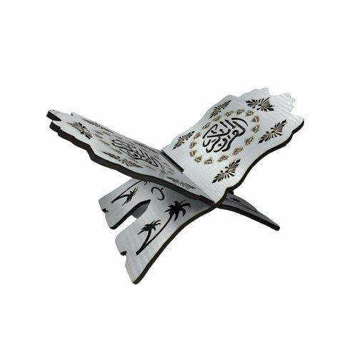 Koran houder Antiek Zilver XL