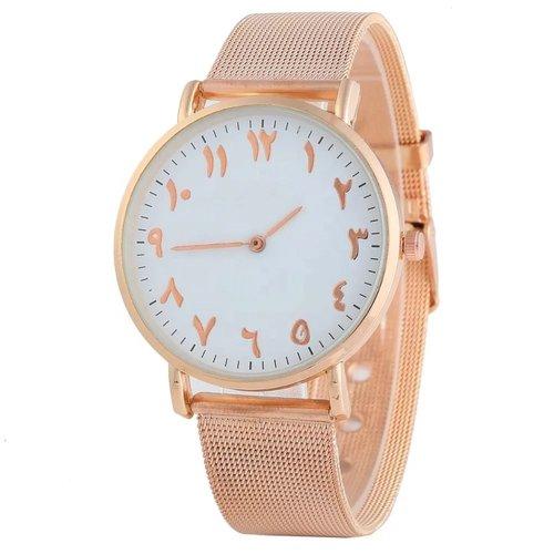 Limited Edition Horloge met Arabische Cijfers