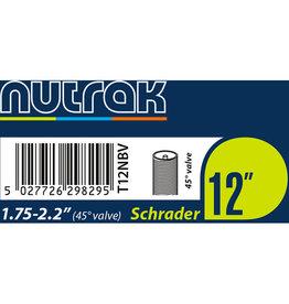 Nutrak Inner Tube Schrader Nutrak 12 x 1.75 45 Degree Valve