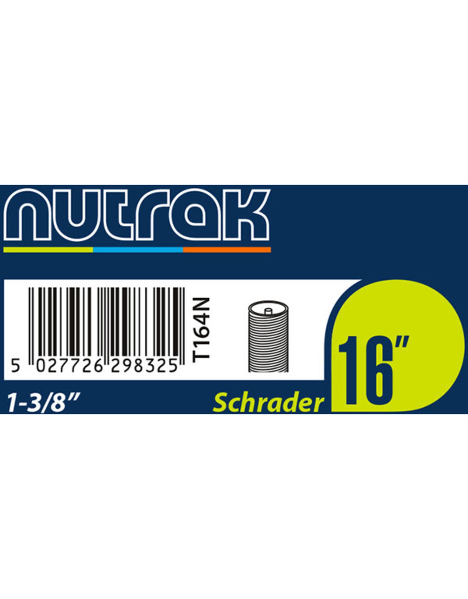 Nutrak Inner Tube Schrader Nutrak 16 x 1 3/8
