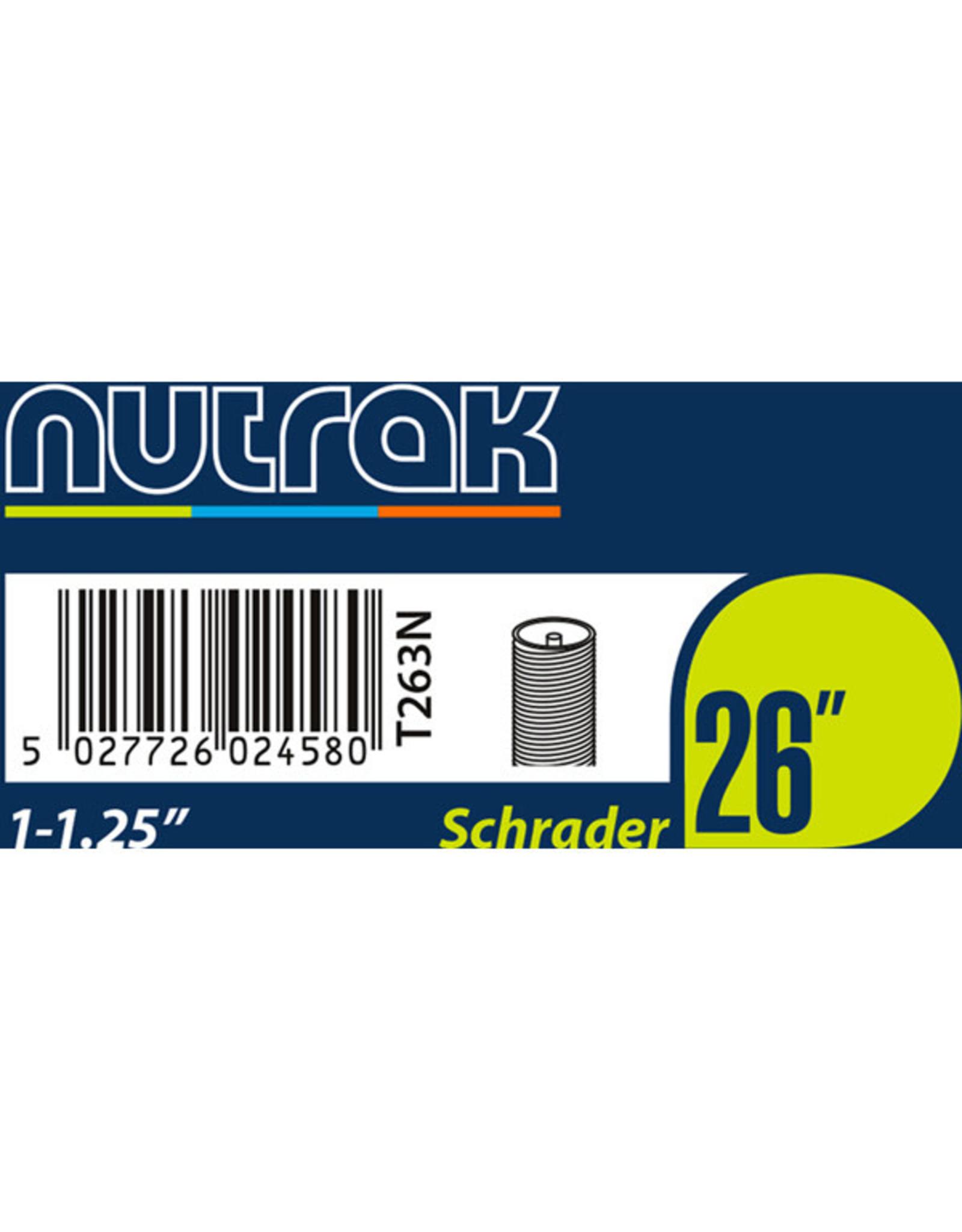 Nutrak Inner Tube Schrader Nutrak 26 x 1-1.25