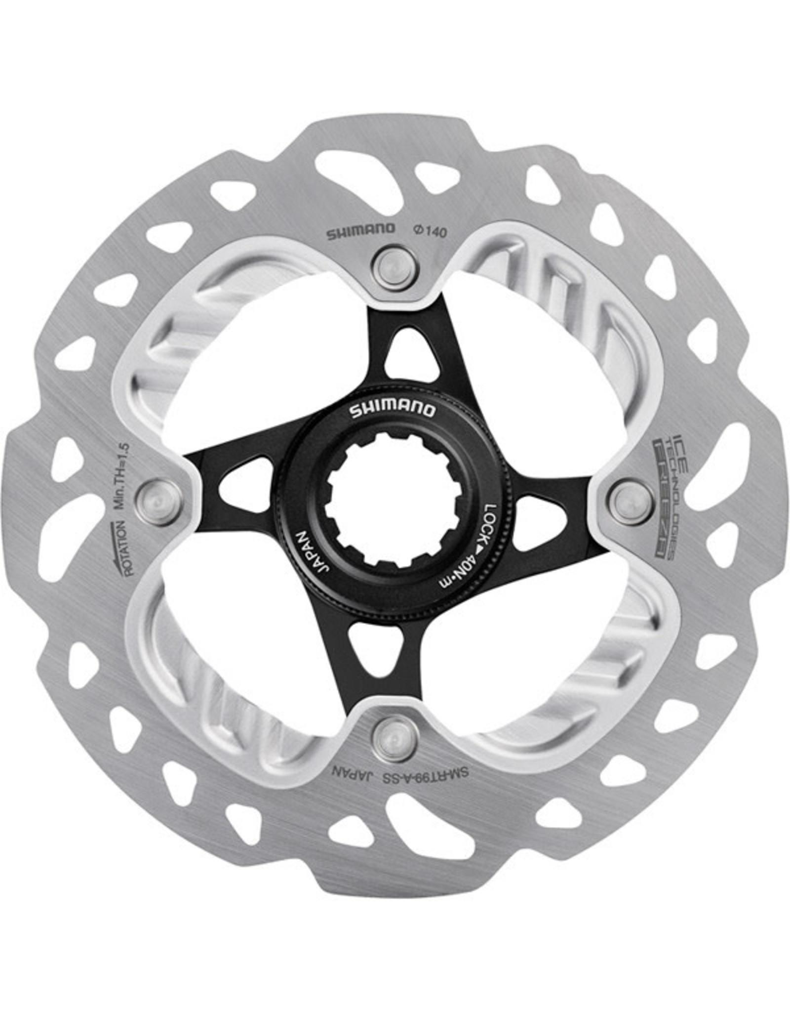 Shimano Disc Rotor XTR SMRT99 Center-Lock Ice Tech
