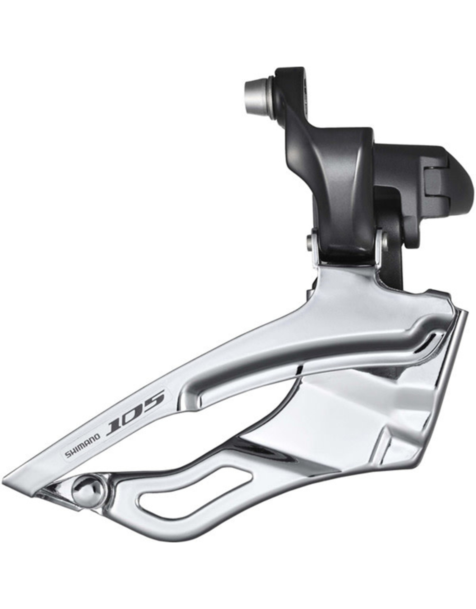 Shimano Front Derailleur Triple 105 10 Speed Braze-On Black