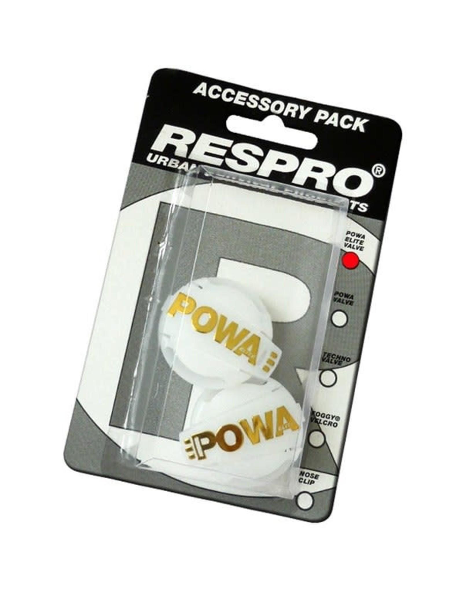Respro Valve Respro Powa Black/Sil x2