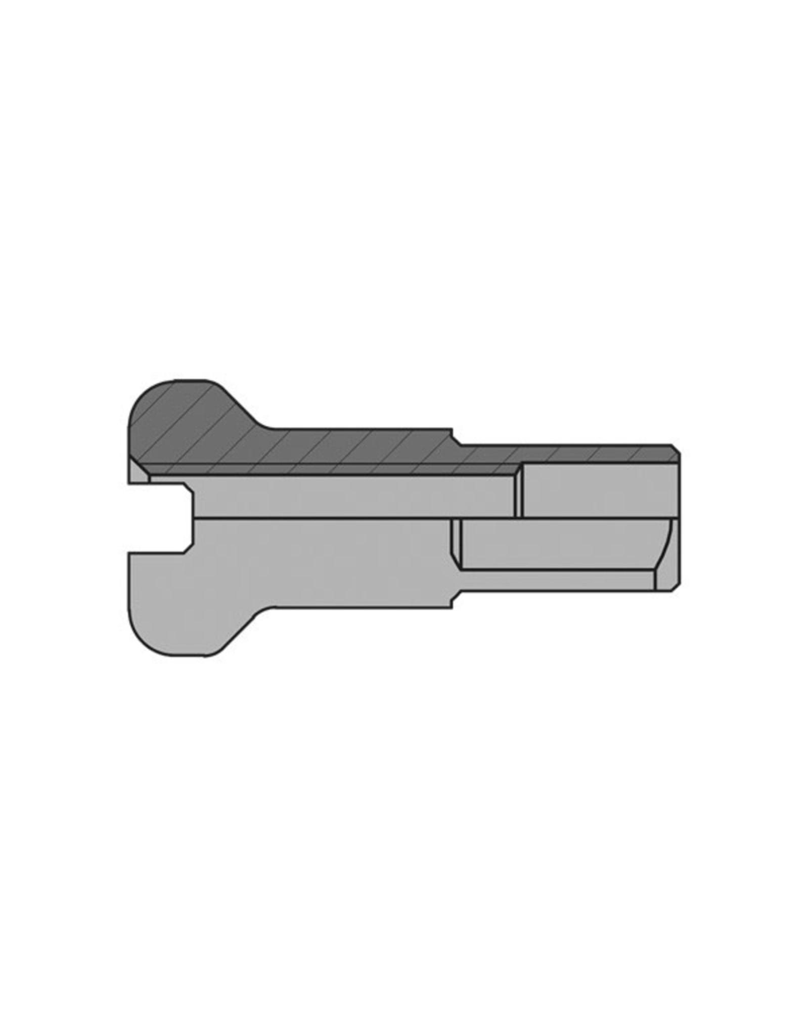 DT Swiss Spoke Nipples Brass 2x16mm Silver
