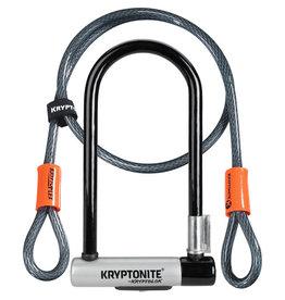 Kryptonite D-Lock Kryptolok + Cable