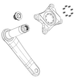 Truvativ Crank Arm Bolts M15 S/Ext