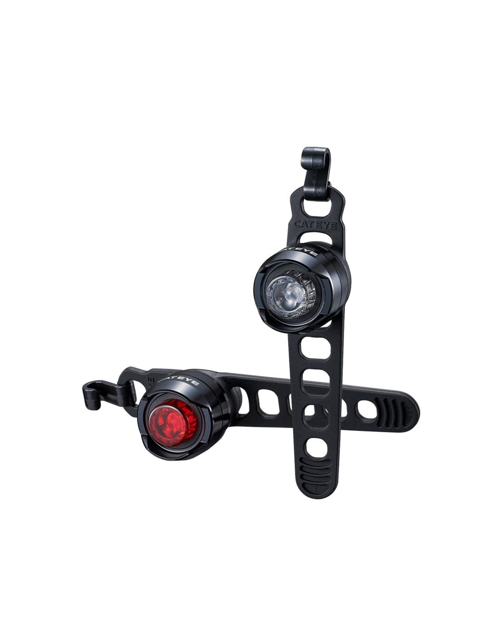 Cateye Light Set Orb Black Pair