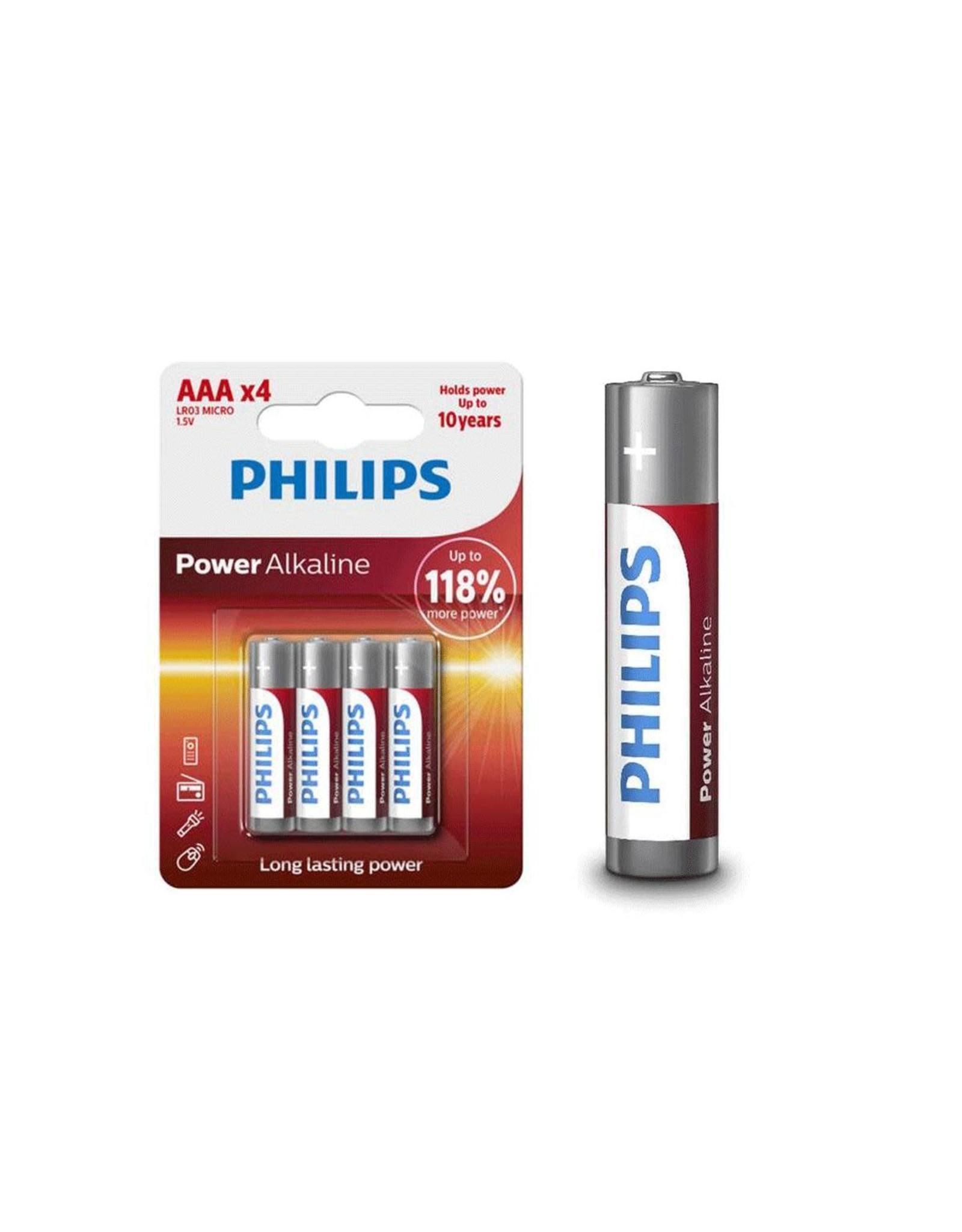 Philips Batteries Powerlife AAA x4