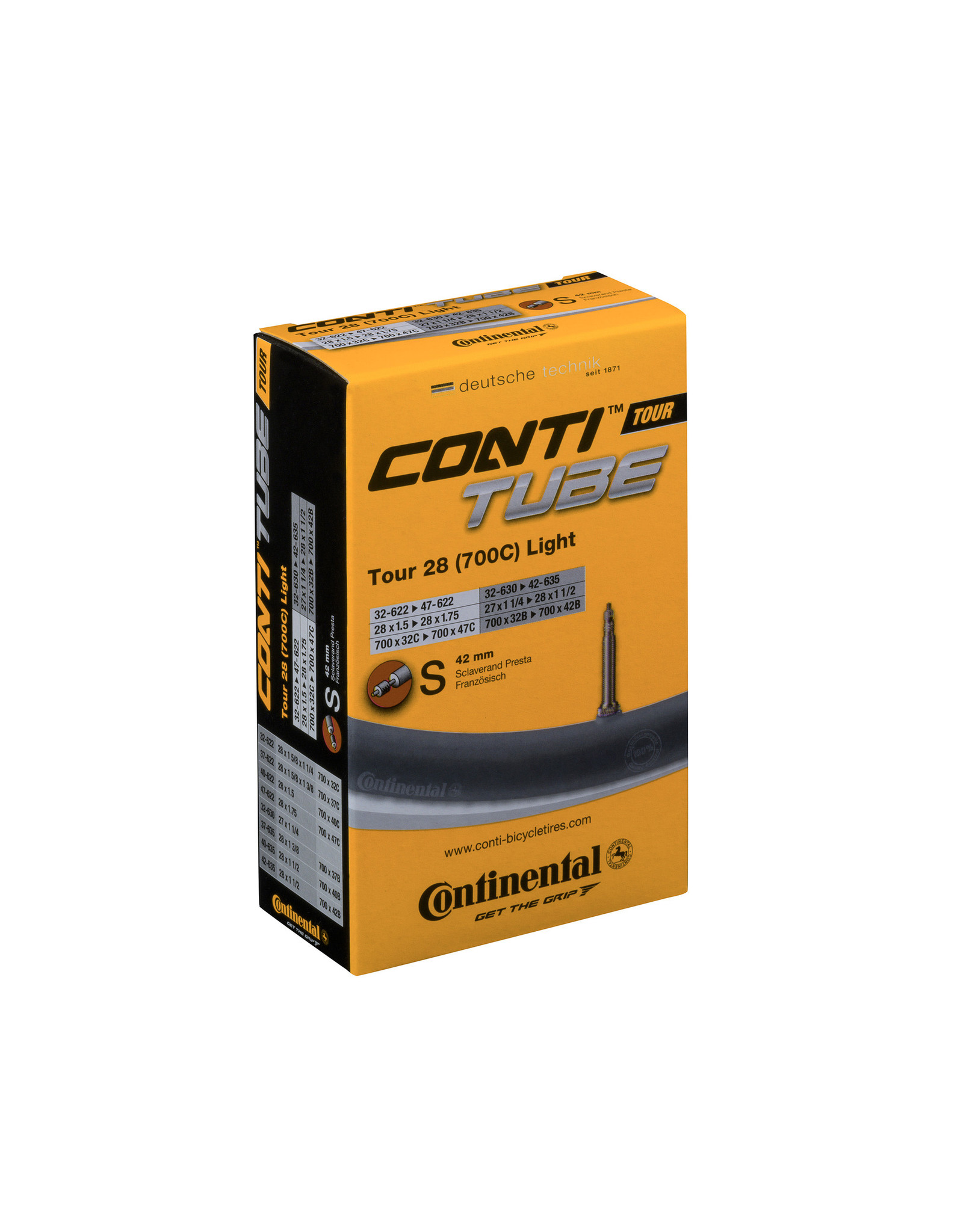 Continental Inner Tube Presta 700 x 32 - 47C 40mm Valve