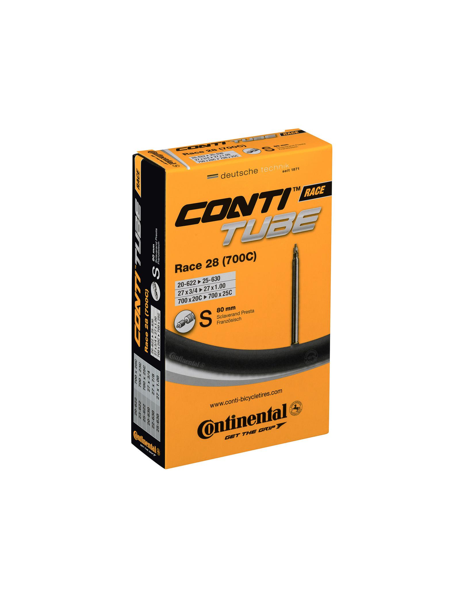 Continental Inner Tube Presta Race 28 700 x 20-25 80mm Valve
