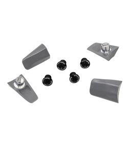 TA Specialites Bolt Cover Ultegra 6800 x4 Gry