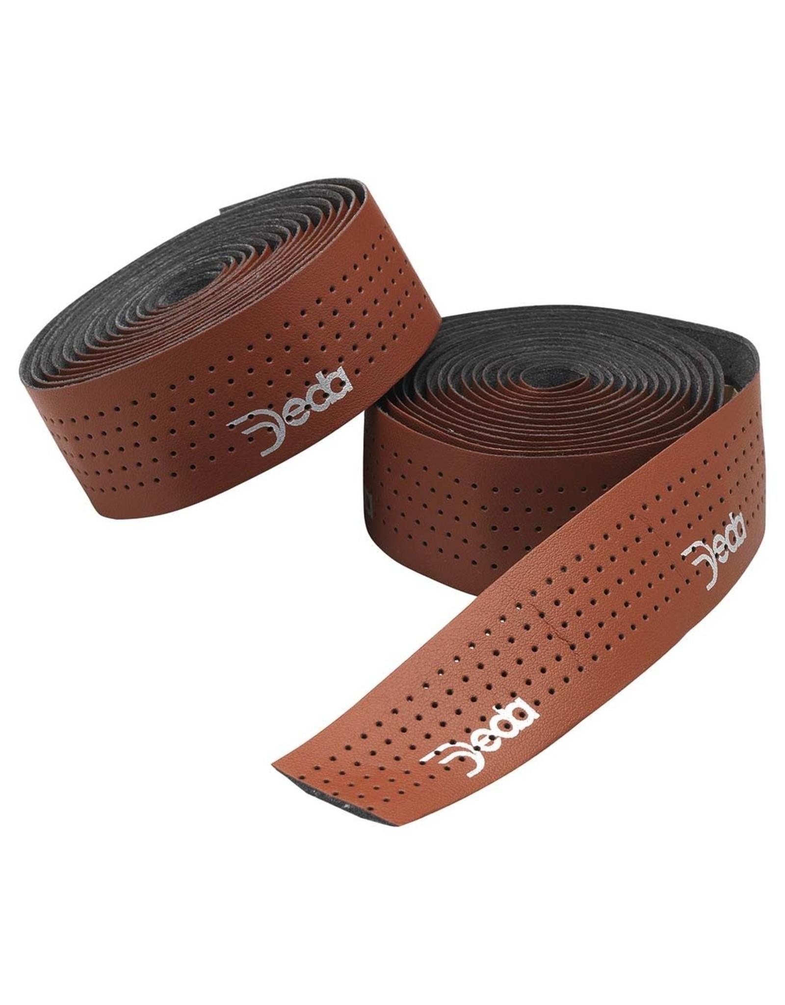 Deda Handlebar Tape Leather Look Brown