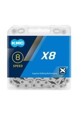 KMC Chain 8 Speed X8 Silver