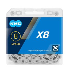 KMC Chain 8 Speed X8 Silver