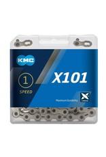 KMC Chain Single Speed X101 Silver