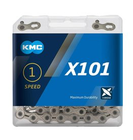 KMC Chain Single Speed X101 Silver