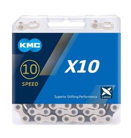 KMC Chain 10 Speed X10 Silver/Black