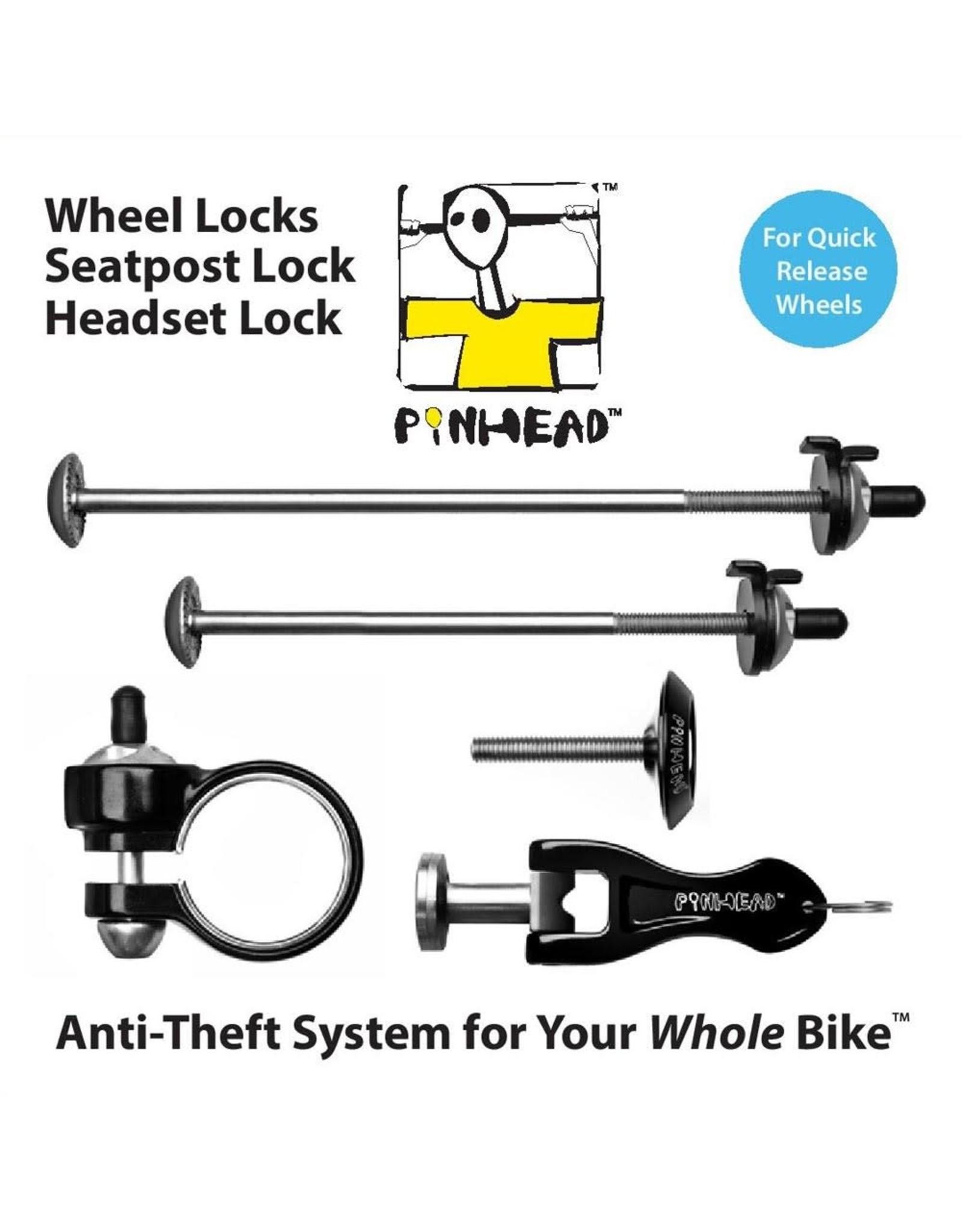 Pinhead Wheel Lock Skewer 4-Pack