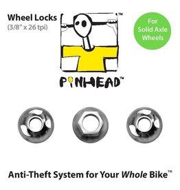 "Pinhead Wheel Lock Solid Axle 3/8"""