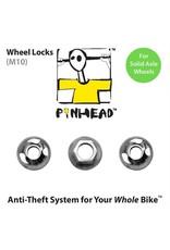 Pinhead Wheel Lock Solid Axle M10