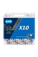 KMC Chain 10 Speed X10 Silver/Black 122 links