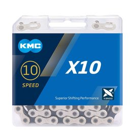 KMC Chain 10 Speed X10 Silver/Black 122 links