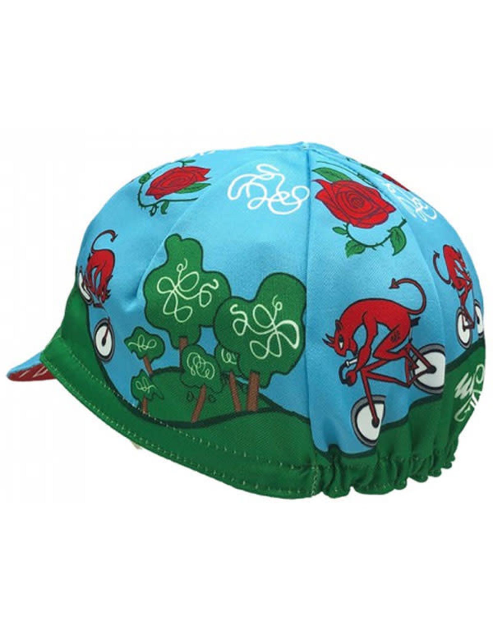 Cinelli Cycling Cap Diavolo Rosso UNI