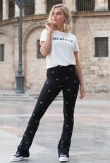 Colourful Rebel Stars basic flare pants