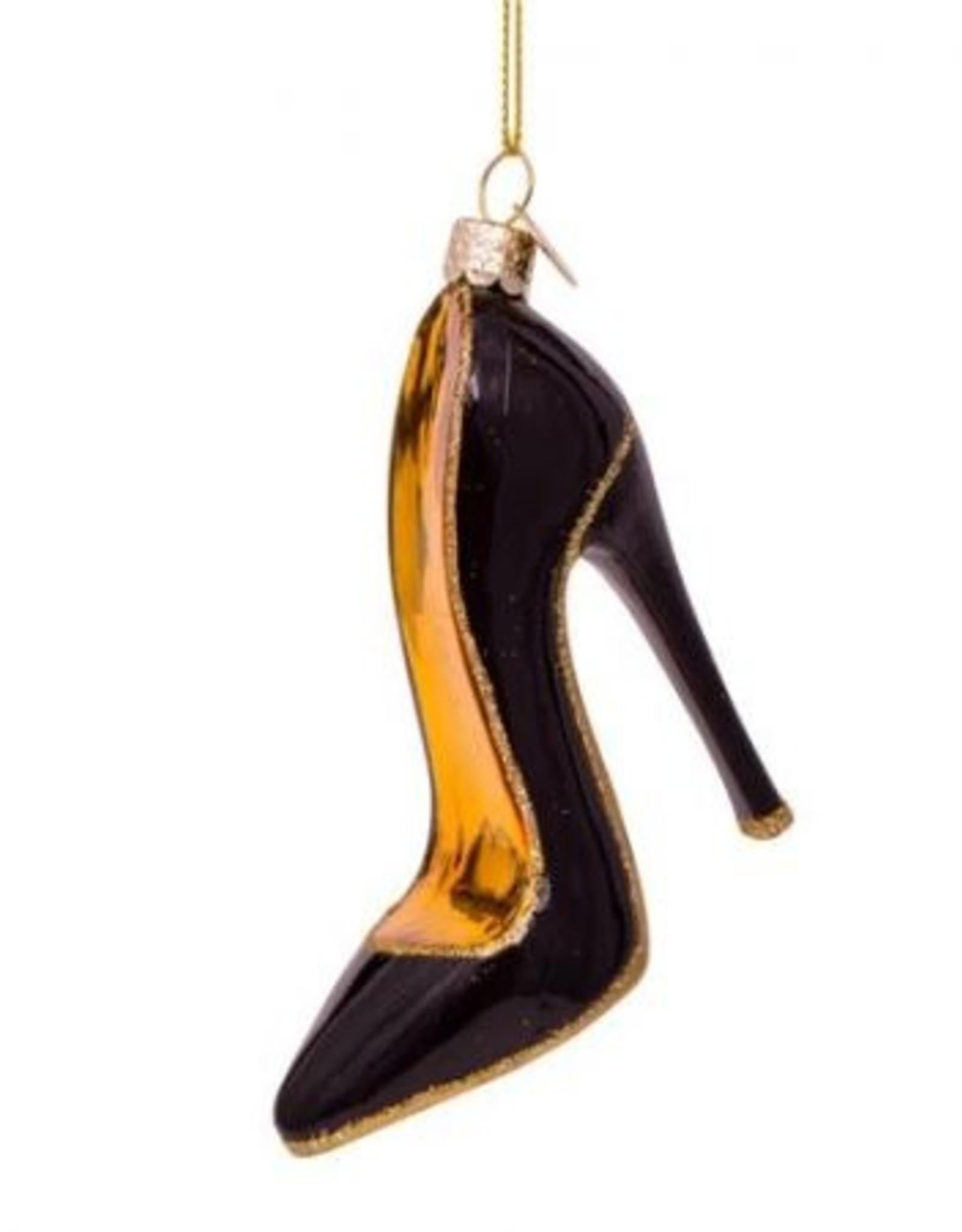 Vondels Ornament pump zwart
