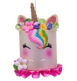 Vondels Ornament white unicorn
