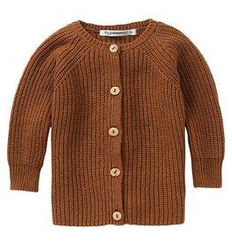 Mingo Knit baby cardigan pecan