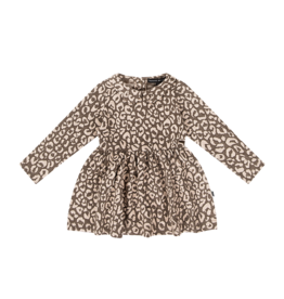 House of Jamie Mid waist dress leopard