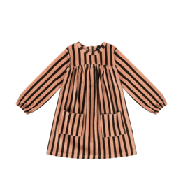 House of Jamie Pocket dress blush choco