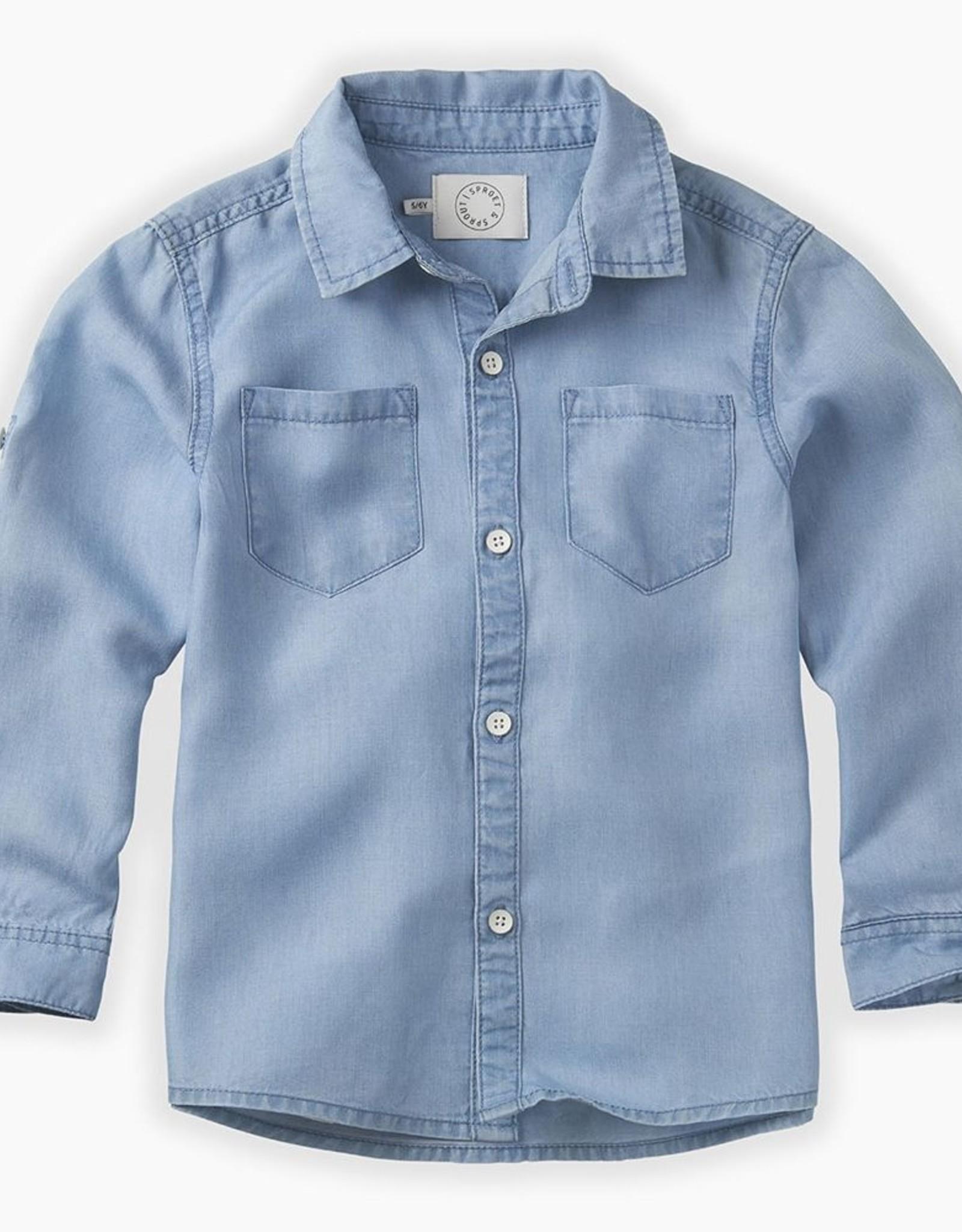 Sproet & Sprout Denim shirt blue