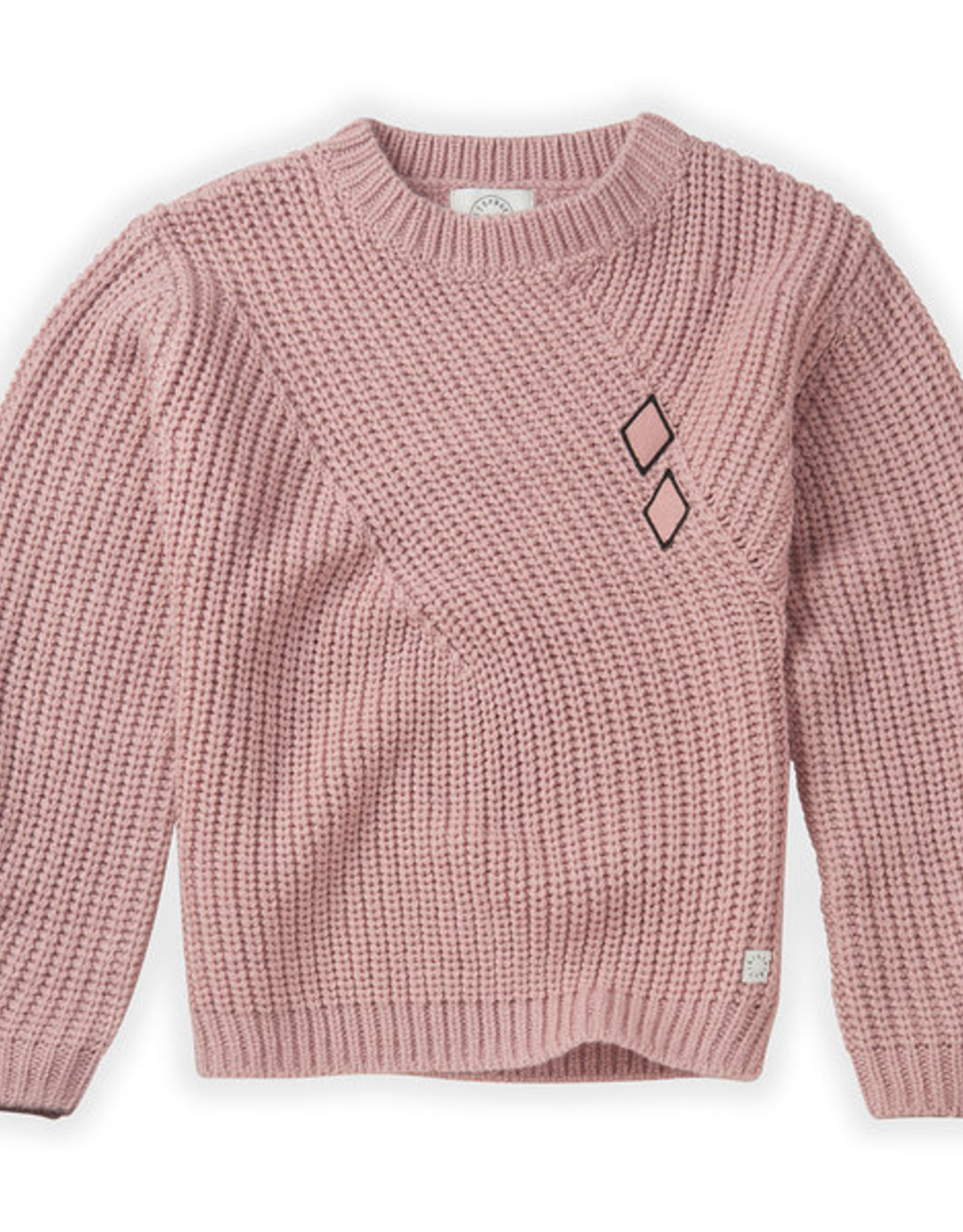 Sproet & Sprout Chunky sweater diamond