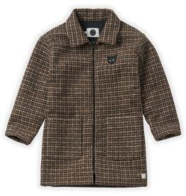 Sproet & Sprout Wool Check coat