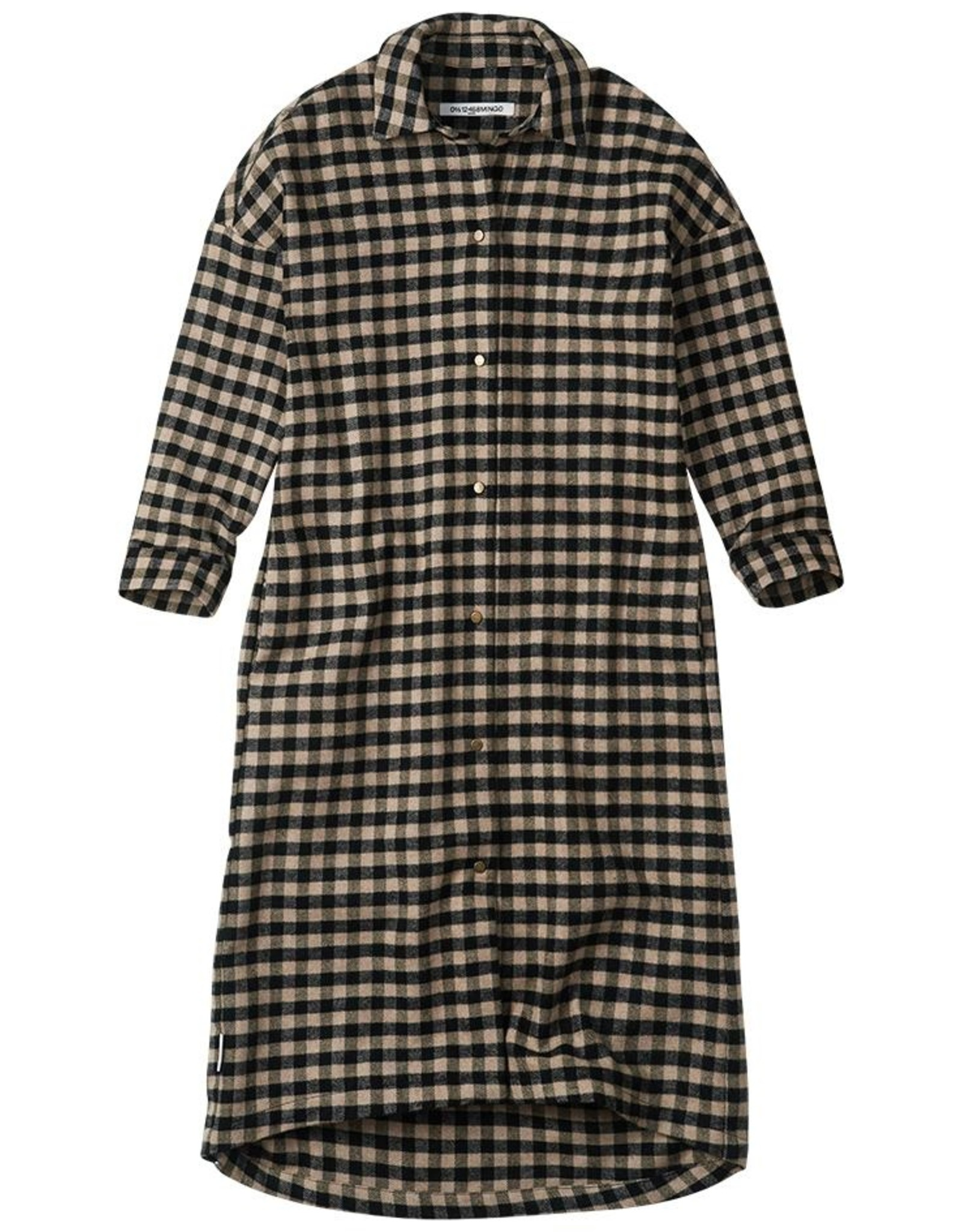 Mingo Flannel shirt dress