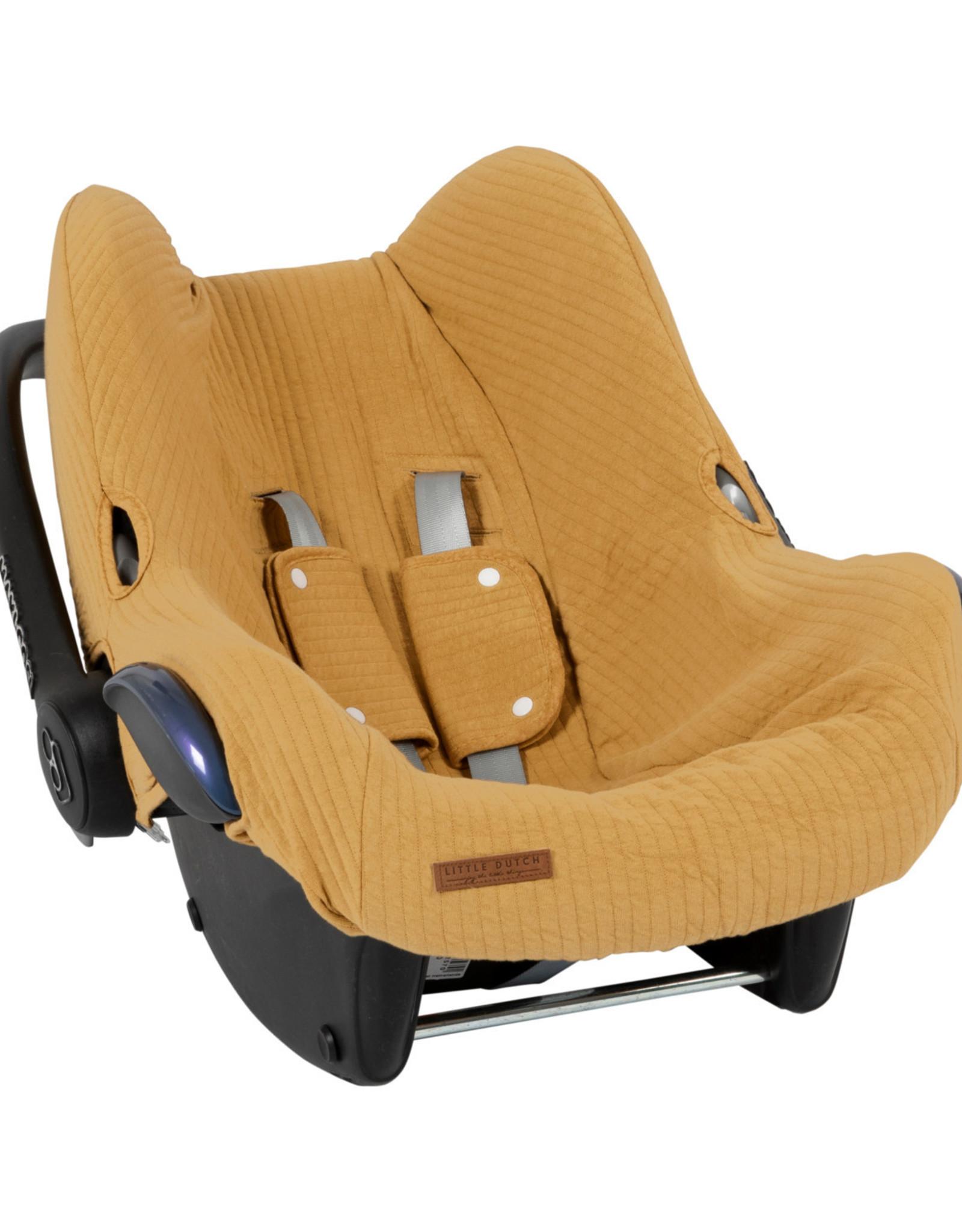 Little Dutch Little Dutch Car seat cover Pure Oker