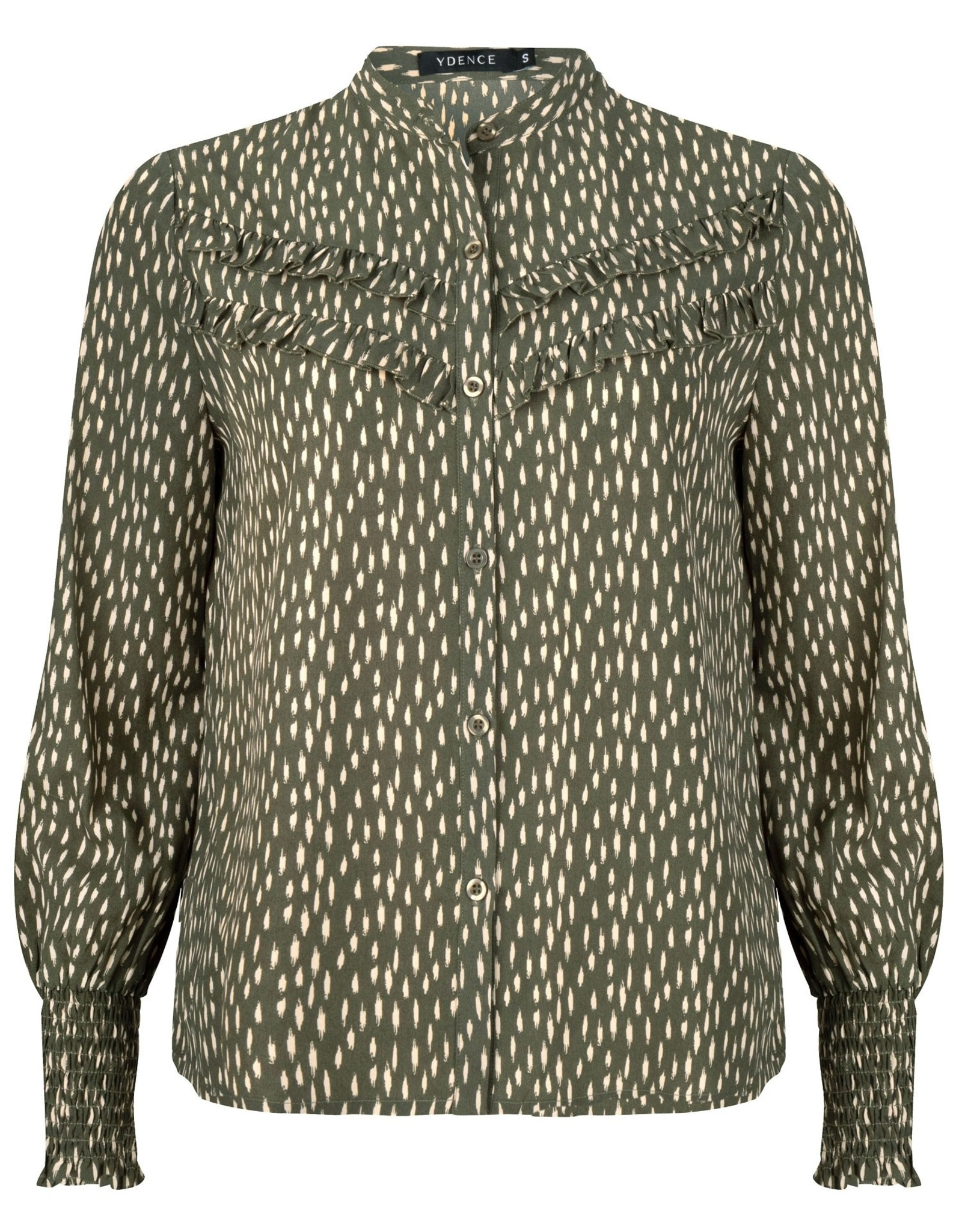 Ydence Blouse indy green print