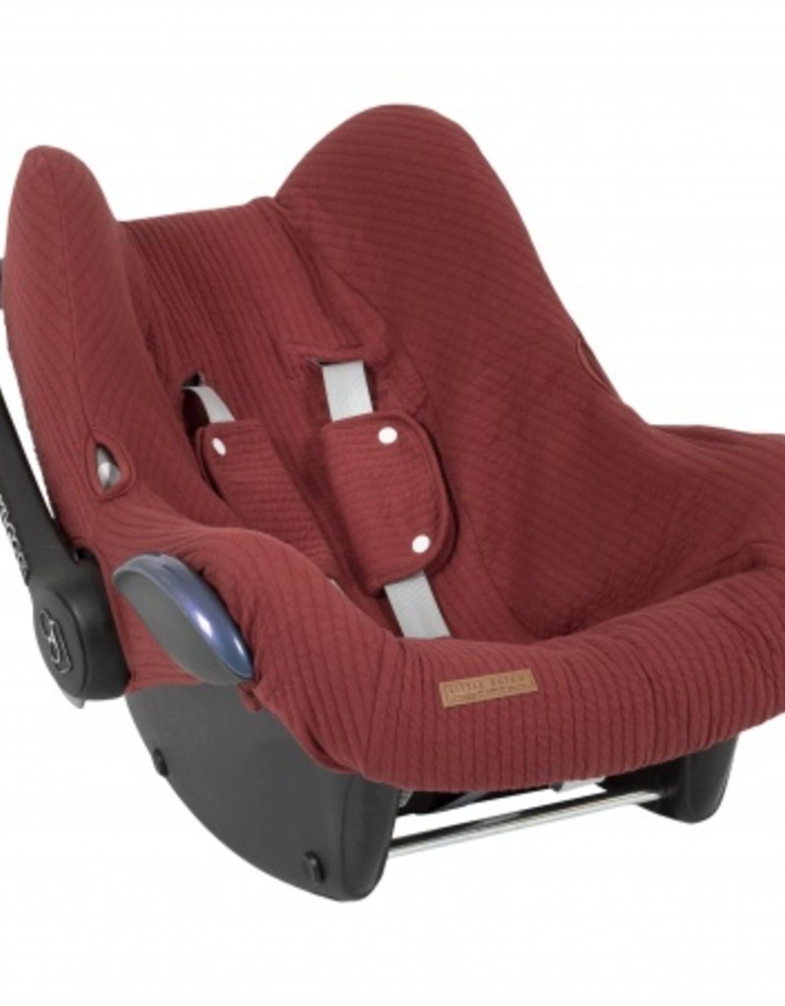 Little Dutch Little Dutch Car seat cover Indian Red
