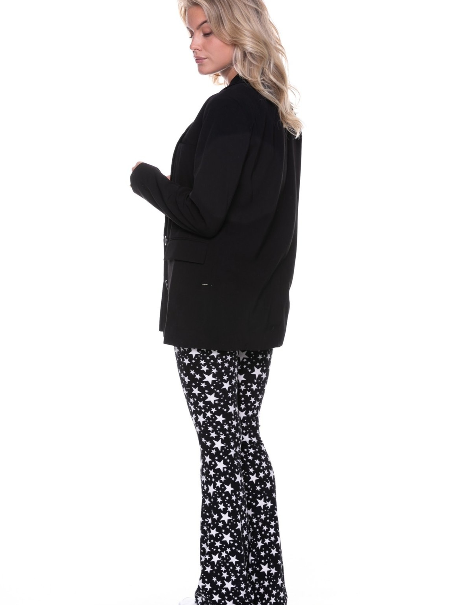 Colourful Rebel Rikki Oversized Blazer Black