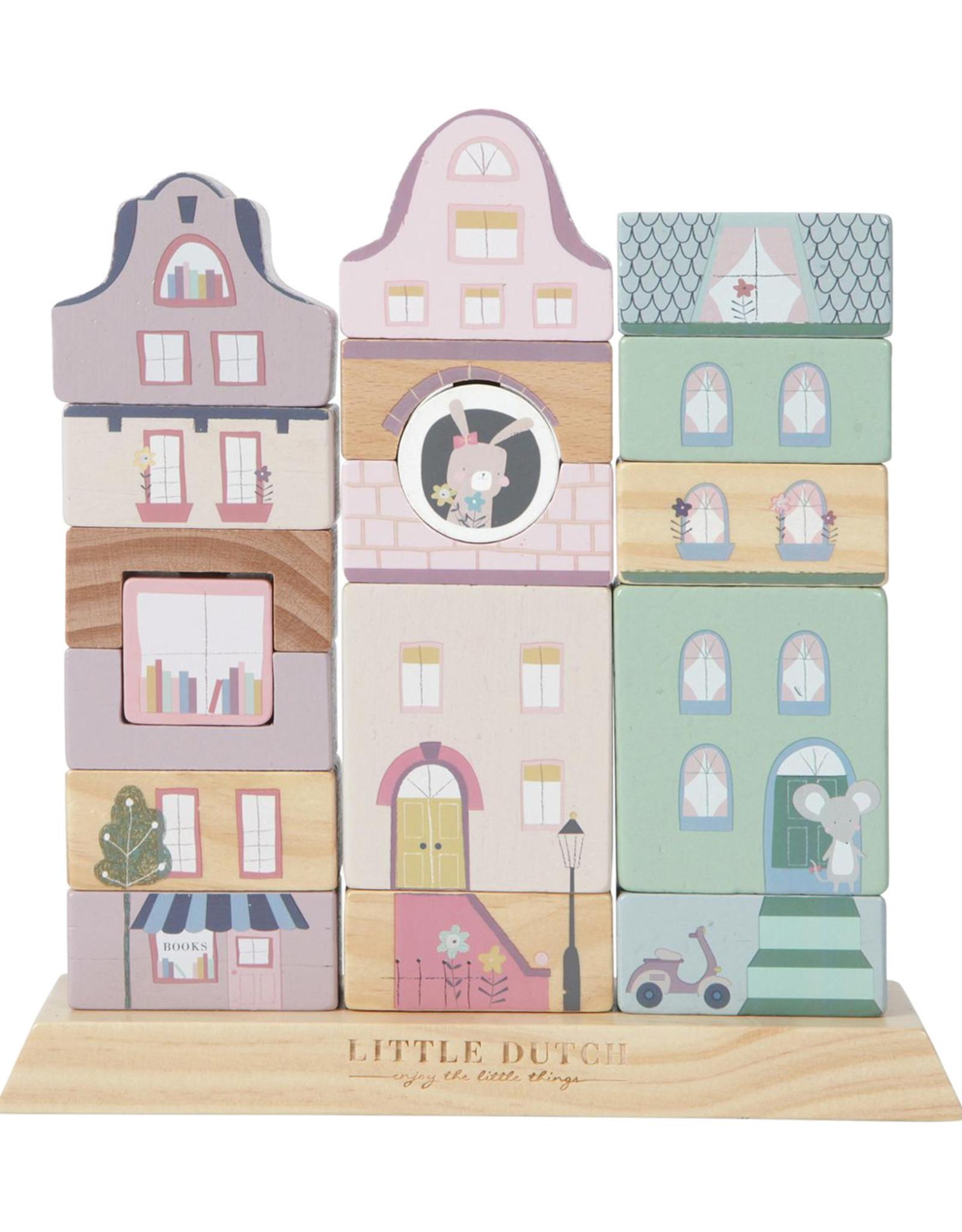 Little Dutch Stapelgeveltjes Adventure pink