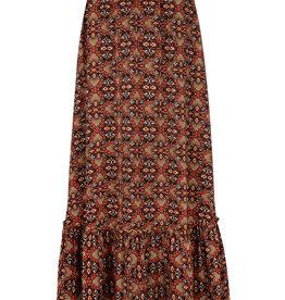 Ydence Winnie flower print maxi skirt